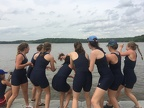 Womens Novice 8 Coxswain Toss