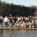 Spring Break 2018 - Team Photo on Dock