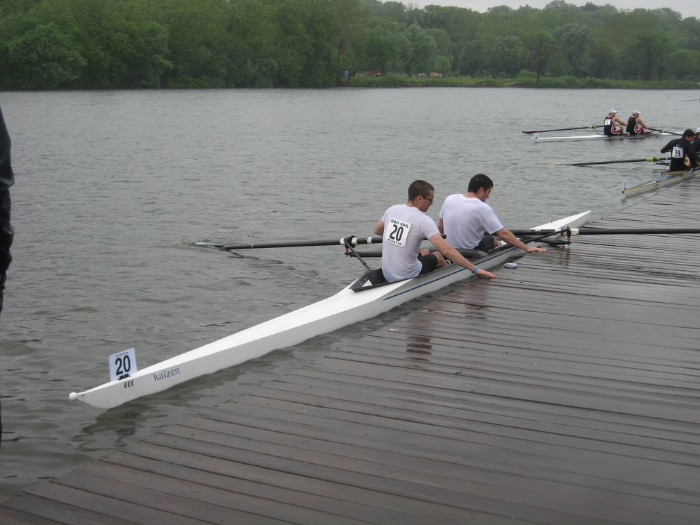 Docking after a Hard Fought Race