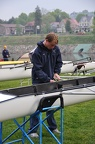 Nick rigging the four