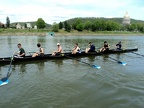 CSU CWRU Composite Men s 8  - launching