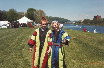 1999 WV Gov Cup - Ellen Zienta and Maike Johnson