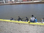 Men s Four Getting Ready to Launch