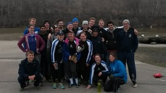 CWRU Crew Team Photo - Home Schools 2015  2