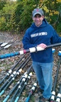 Chorney with his Oar