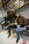 Dan and Brutus Buckeye