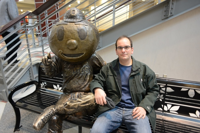 Doug and Brutus Buckeye.JPG