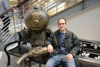 Doug and Brutus Buckeye
