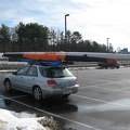 Erynn s boat also on the car