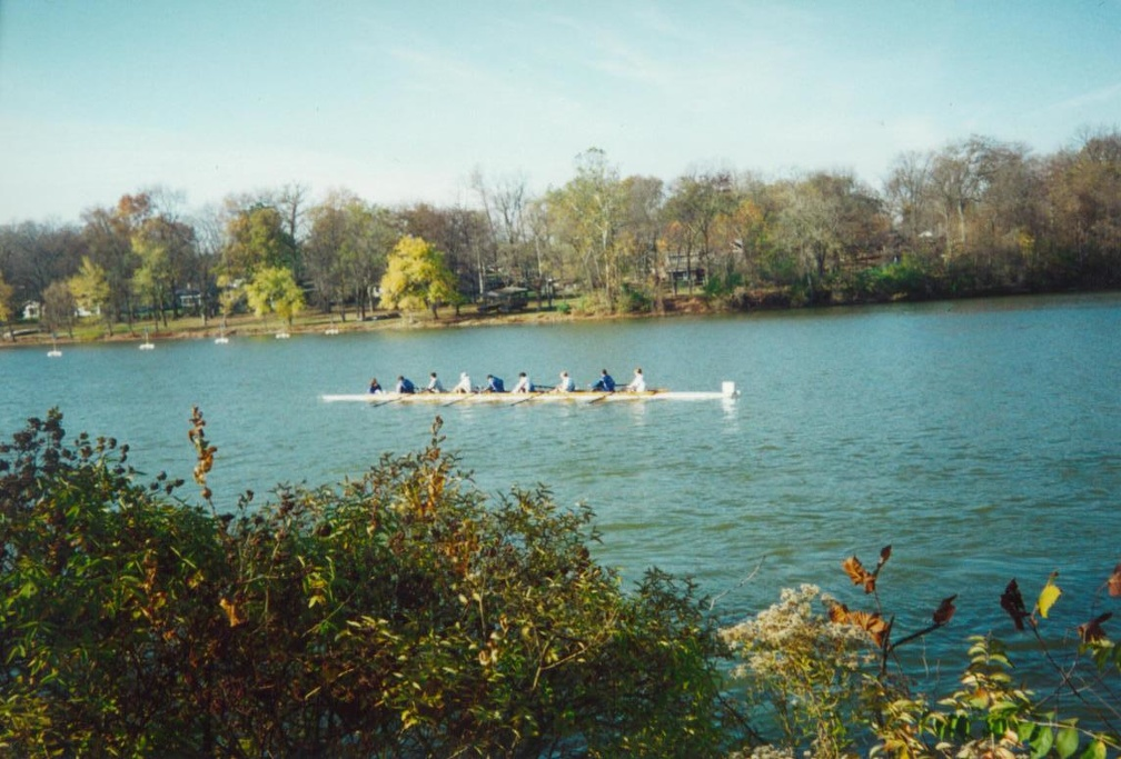 Men s 8 on the water