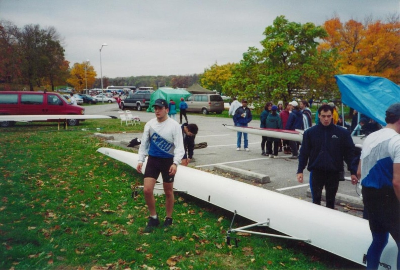 Doug Rathburn and Eric Matyac getting ready to race.jpg