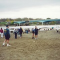 Men s 4 coming off the water - Matyac and Pfahl